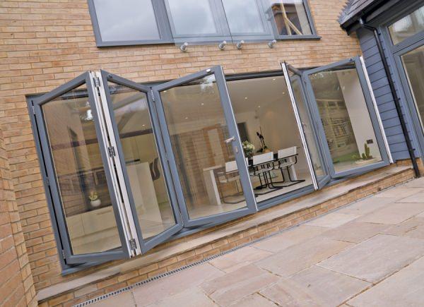 aluminium doors bi fold cambridgeshire