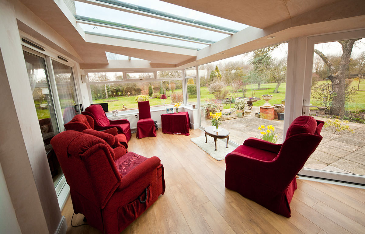 solid replacement conservatory roof