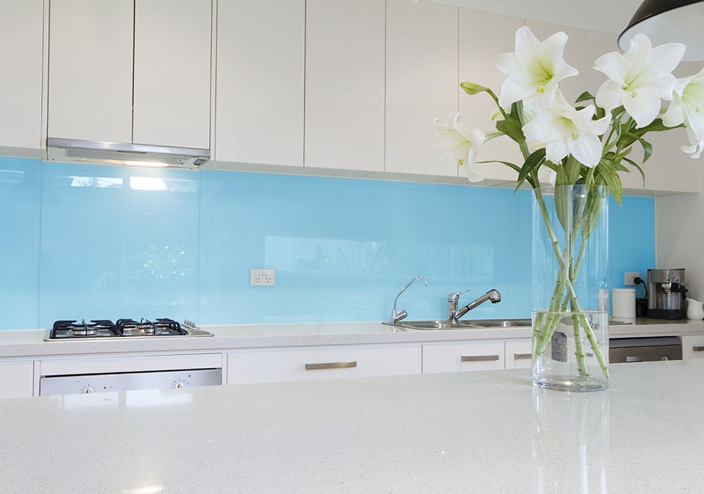made to measure glass splashbacks