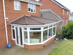 solid conservatory roof price march