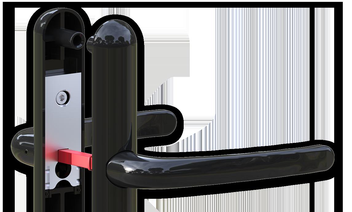 Composite Doors lock handle cmabridge