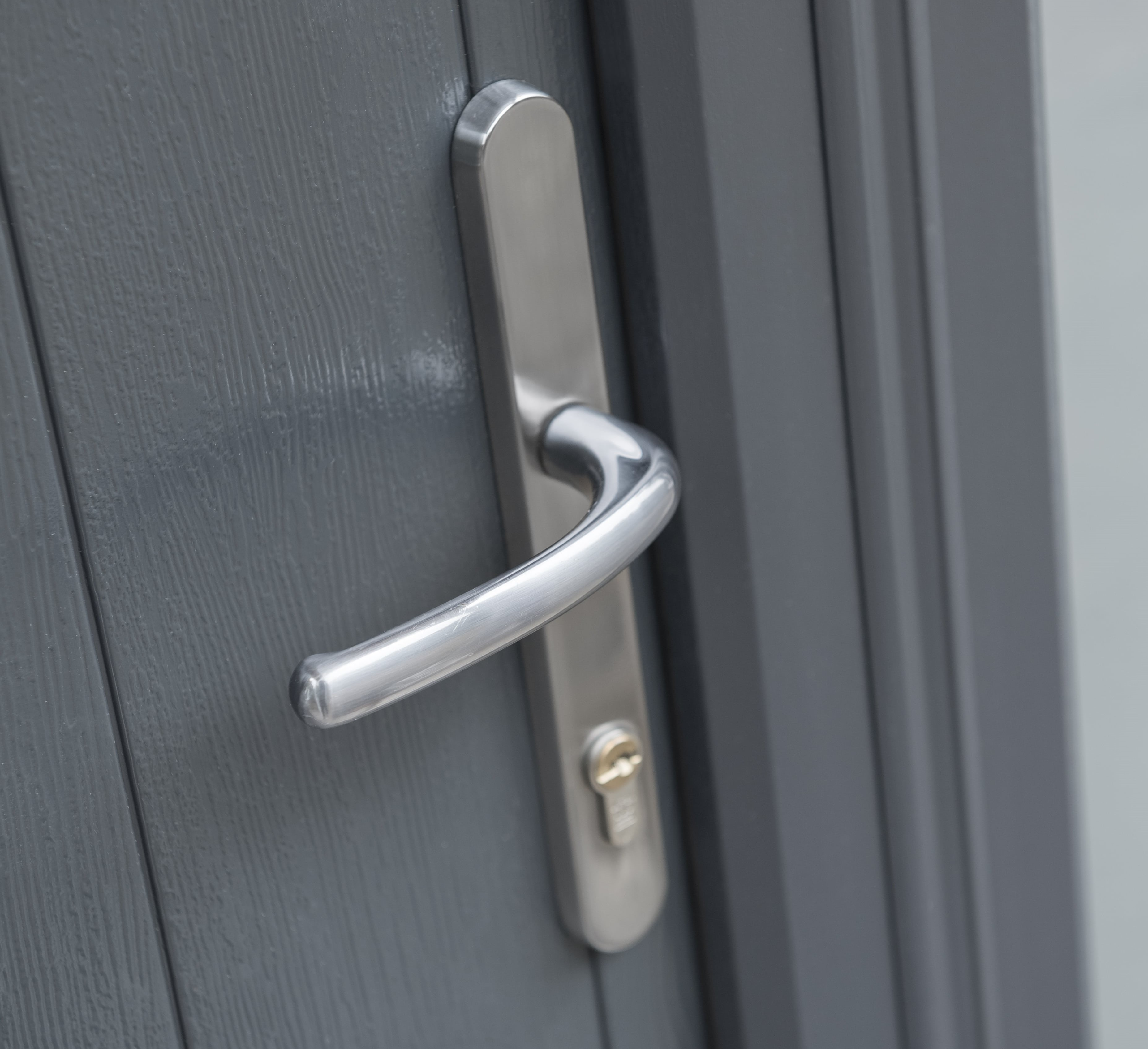 Classic Silver Lever Handle