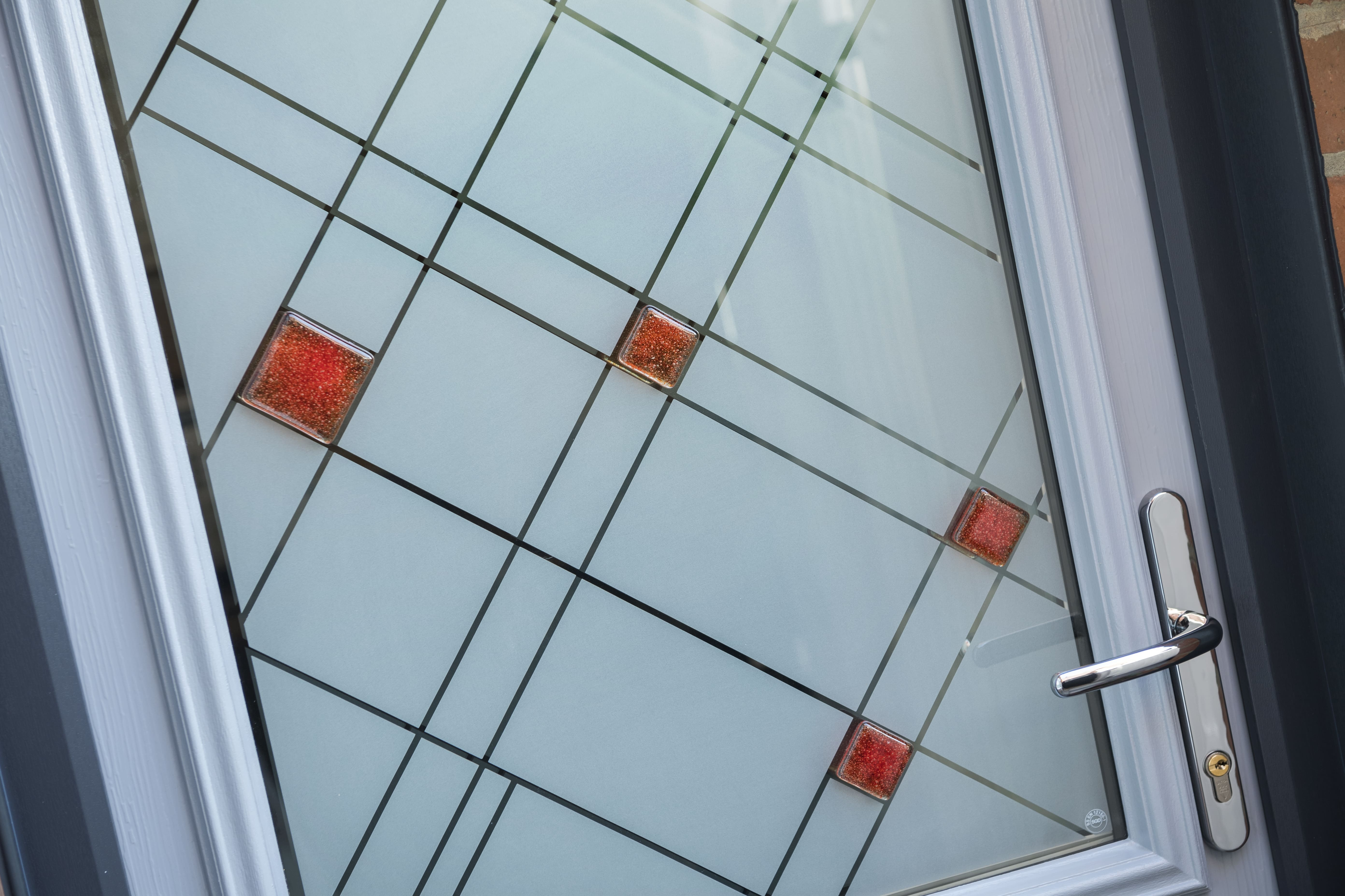 Vogue Red External Glass