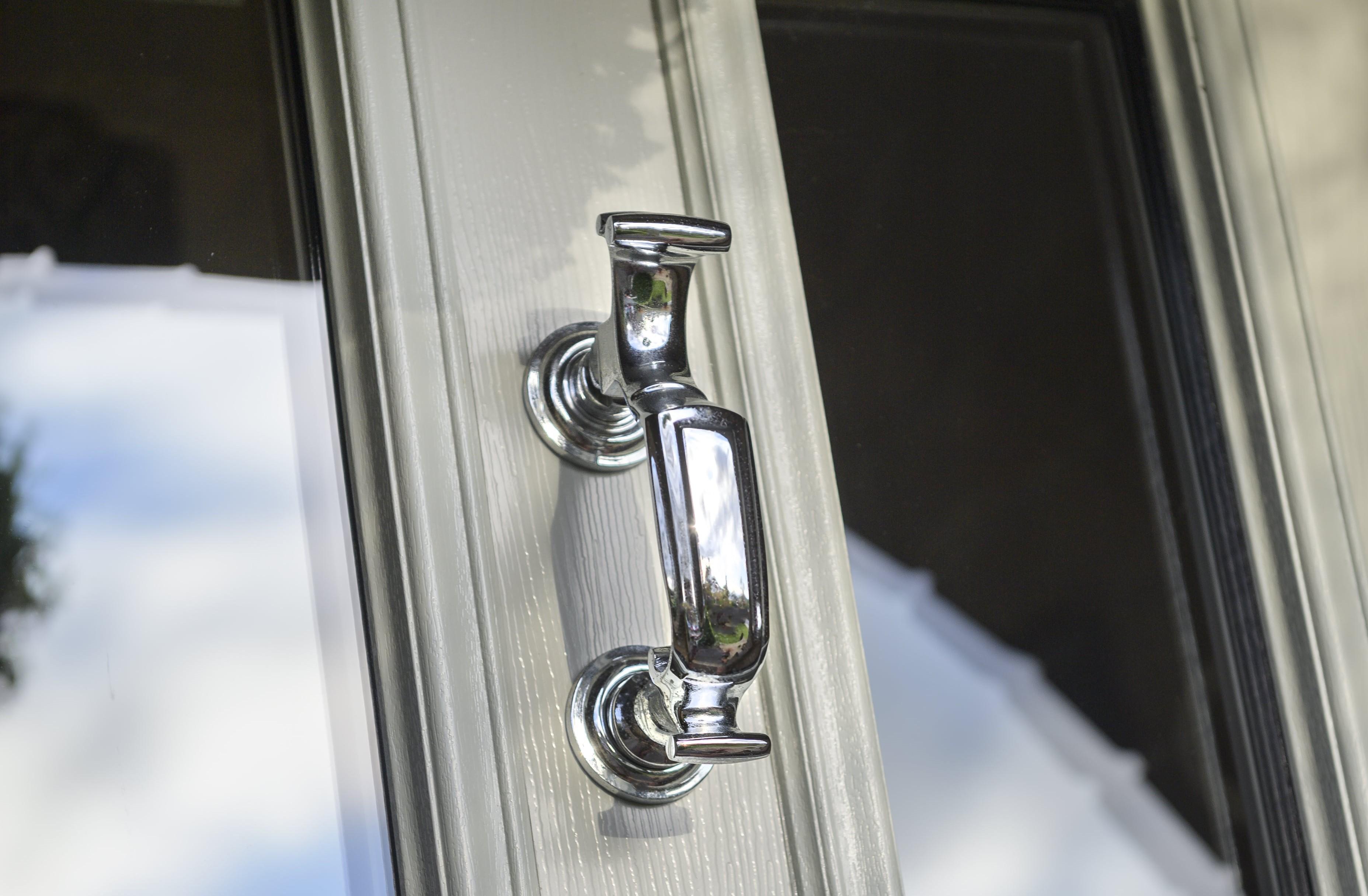 Silver Door Knocker